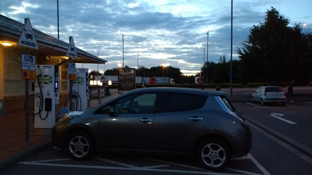 comparing different rapid chargers on a nissan leaf 24  48kw    u2013 simonselectriccar